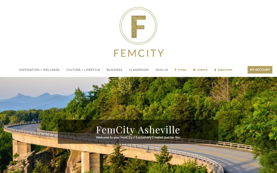 Honored to serve Women of Asheville via FemCity